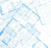Horizontal Blueprint. Vector — Stock Vector