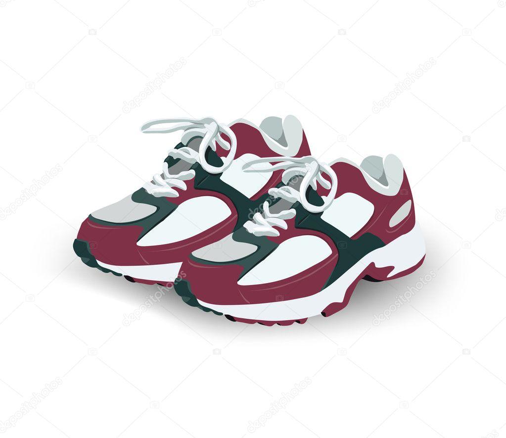 Cross Stitch Running Shoes