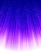 Stars on blue light. Vector — Stock Vector