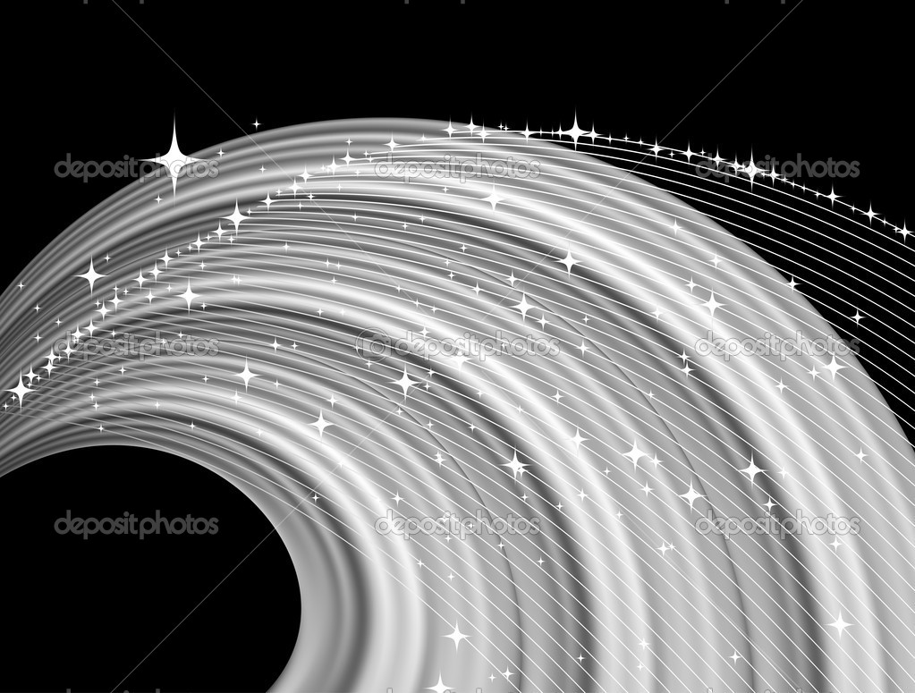 Abstract art design  decor silver background vector — Stock Vector #4899161