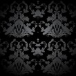 Royalty-Free Stock Vector Image: Dark Seamless Damask Pattern. Vector
