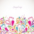 Abstract colorfull background. Vector - Vettoriali Stock