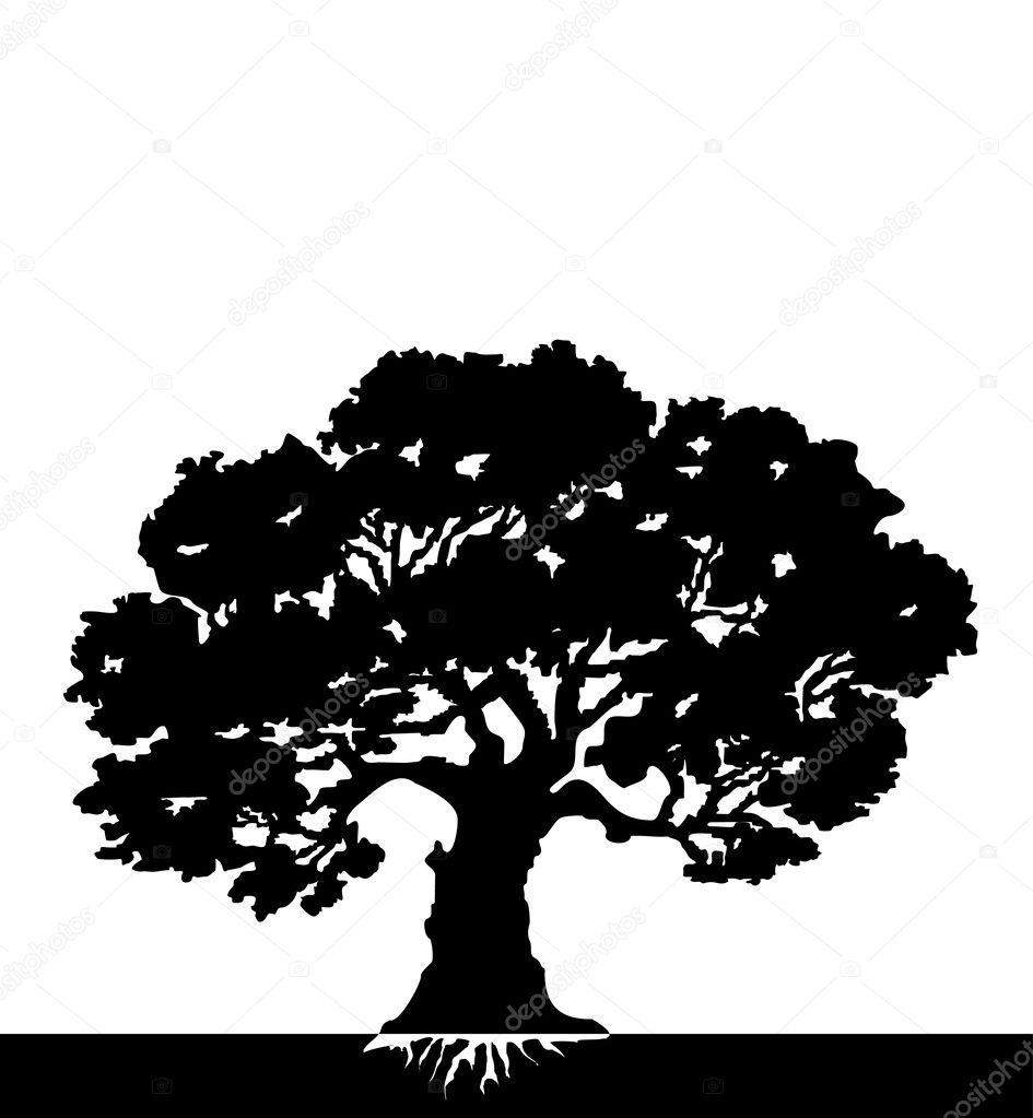 Vector Illustration Tree: Stock Vector #5241909