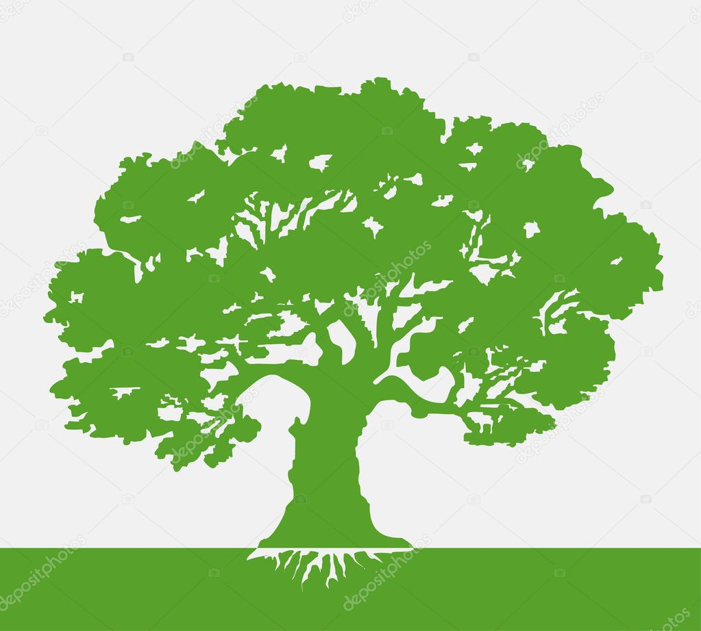 Tree vector illustration stock illustration