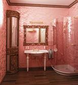 Interior de casa de banho — Fotografia Stock