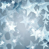 серебряные звезды — Стоковое фото