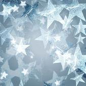 Estrellas de plata — Foto de Stock