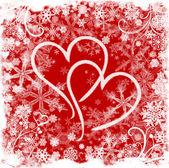 Liebe im winter — Stockfoto