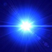 Blue light — Stock Photo