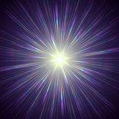 Violet light — Stock Photo