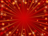 Christmas background radiate — Stock Photo