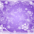Stock Photo: Snowflakes 9