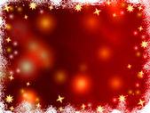 Christmas 3d golden stars — Stock Photo