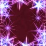 Blue stars over violet background — Stock Photo #4513637