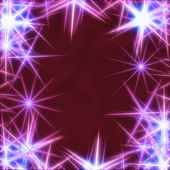 Blue stars over violet background — Foto Stock