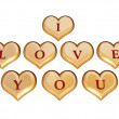 Stock Photo: I love you 1