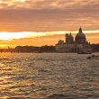 Venice sunset — Stock Photo