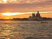 Venice sunset — Стоковое фото