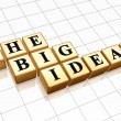 The big ideas — Stock Photo