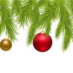 Merry Christmas Banner — Stock Vector
