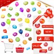 Royalty-Free Stock Vector Image: Big Selling Set