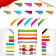 Corners And Ribbons — Stock Vector #4329174