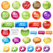 Royalty-Free Stock Vektorgrafik: Set Selling Badges