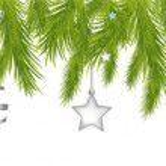 Merry Christmas Header — Stock Vector