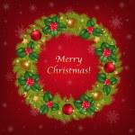 Merry Christmas Congratulation — Stock Vector #4329326