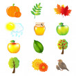 Autumn Vector Set — Stock Vector