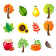 Autumn Set — Stock Vector #4329478