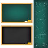 Tavole di scuola — Vettoriale Stock