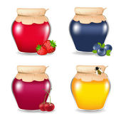 Colorful Jam — Stock Vector