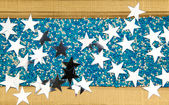 Fond avec des étoiles — Photo