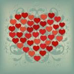 Heart Background 2 — Stock Vector