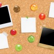 Royalty-Free Stock Imagem Vetorial: Cork Bulletin Board