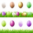 Stock Vector: Easter Set