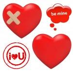 Hearts — Stock Vector #4638567