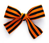 Bow From St. George Ribbons — Stock Photo