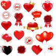 Collection Love Elements — Stock Vector