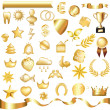 Gold Set — Stock Vector #4691396
