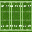 American Football Field - Vettoriali Stock