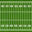 American Football Field — Stock Vector