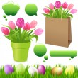 Spring Set — Stock Vector #4697733