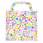 Bag For Shopping — Stock Vector