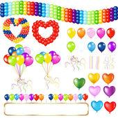 Balloons — Stock Vector