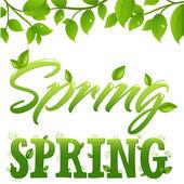 Frühling — Stockvektor