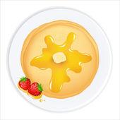 Pancakes — Stock Vector