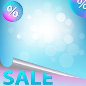 продажа плакат — Cтоковый вектор