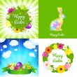 Royalty-Free Stock Vector Image: Happy Easter Cards